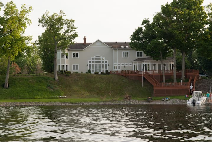 Expansive Custom Lake Estate
