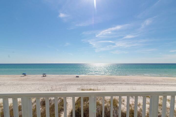 Paradise 30A ~ One Step to the Beach ~ Master Balcony View (2nd Floor) ~ Inlet Beach
