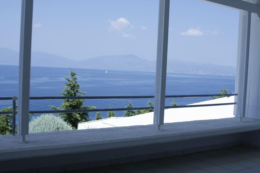 1st Level left veranda view