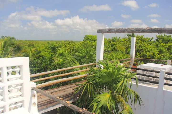 Gorila Loft at the beach - Tulum - House