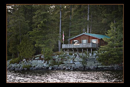 Whispering Pines Remote Log Cabin - Kipawa