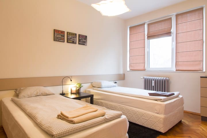 Warm & cozy apartment on Frédéric Joliot-Curie str