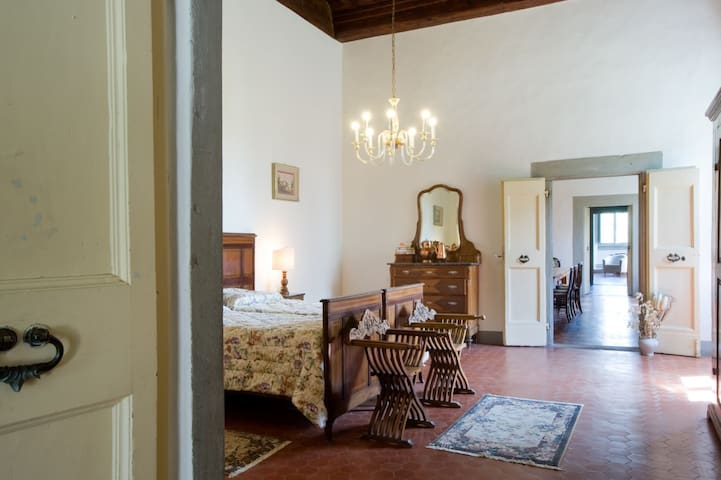 Rooms with Breakfast in Medicean Villa .Florence