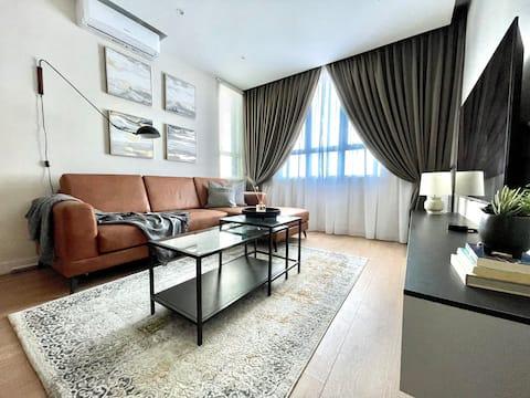 •DERU•Modern seaview apartment across KTCC Mall