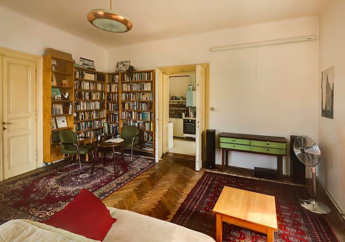 Bookseller's Sunny Flat