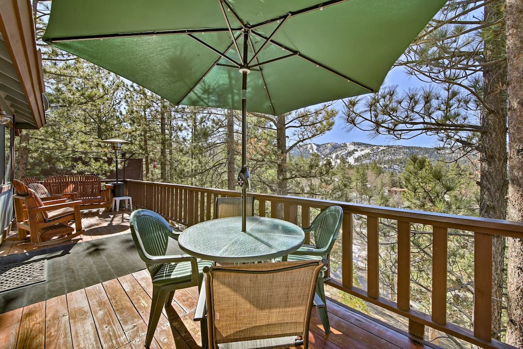Views of Big Mountain await at this 2-bedroom, 2-bathroom vacation rental home!