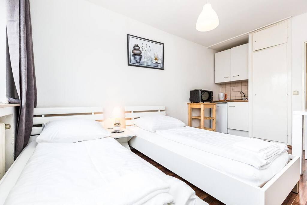 Wohnschlafraum/ living- and sleepingroom Bedroom
