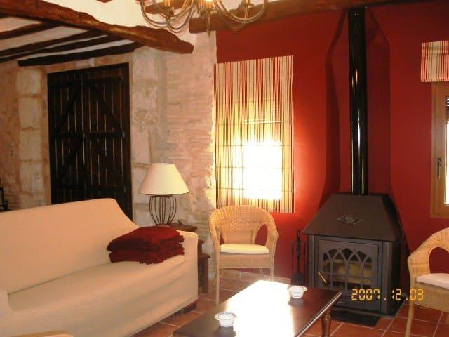 Casa 2 Alquería del Pilar 6-8 pers - Banyeres de Mariola - Dům