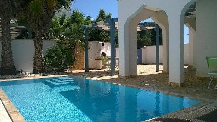 Villa mit Schwimmbad (Salento - Apulien)