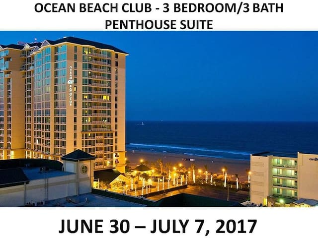 Oceanfront Penthouse Condo at OBC
