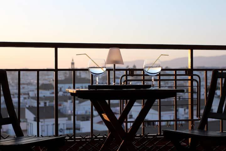 Balcon Luz. Singles. The best views. VFT/CO/00073