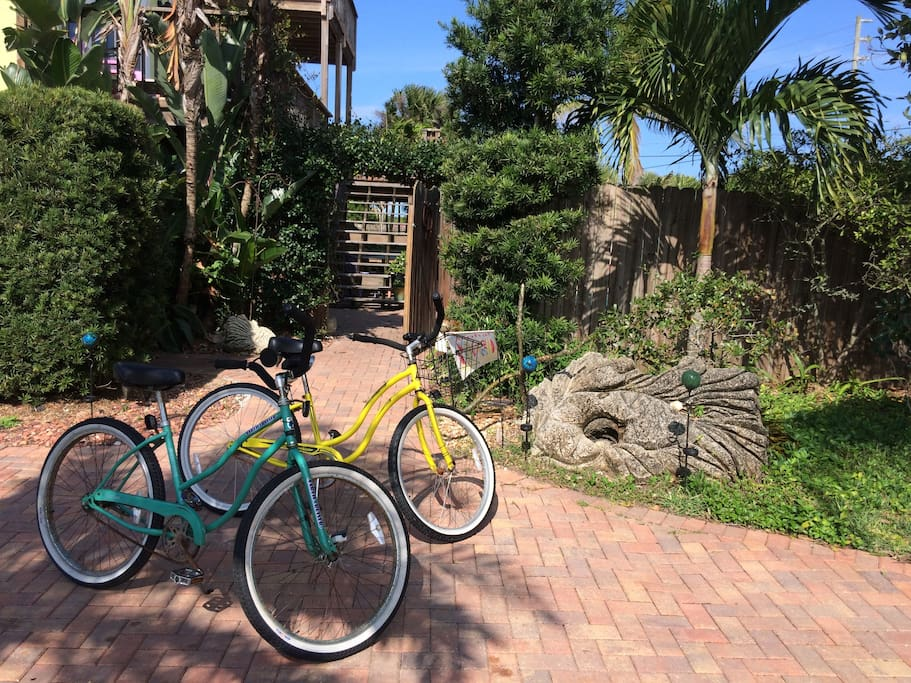2 bicycles for your use