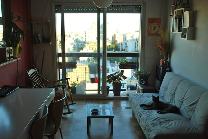 The best view and light / 13th floor flat - Buenos Aires - Daire