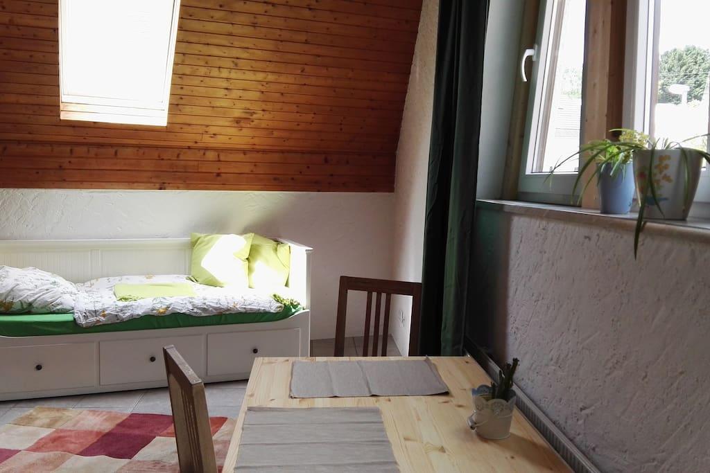 gem tliches apartment k che bad f r 1 person wohnungen zur miete in idstein hessen deutschland. Black Bedroom Furniture Sets. Home Design Ideas