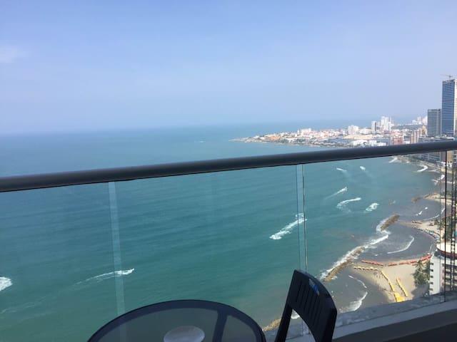 Oceanfront Apartment in Cartagena