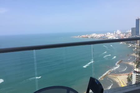 Oceanfront Apartment in Cartagena - Cartagena - Wohnung