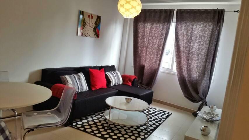 Appartement El Cotillo aan de kust.