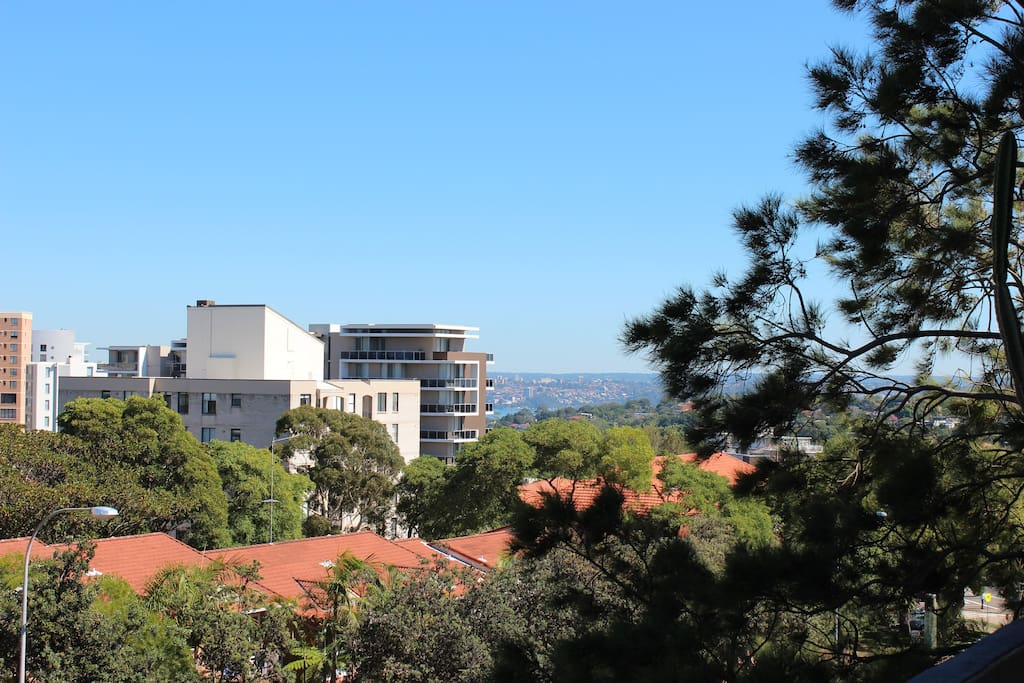Great views across Sydney