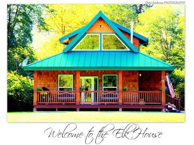 Welcome to the Elk House! - Quinault - House