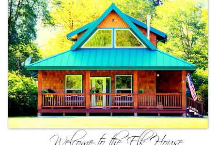 Welcome to the Elk House! - Quinault - Rumah