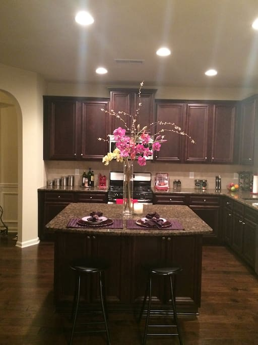 Fabulous kitchen with stainless steel appliances!