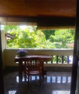 Teblin House 6 balcony - Ubud - Apartment