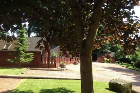 Huntingtower Lodge, Huntingtower, Perth PH1 3JT - Almondbank - Σαλέ