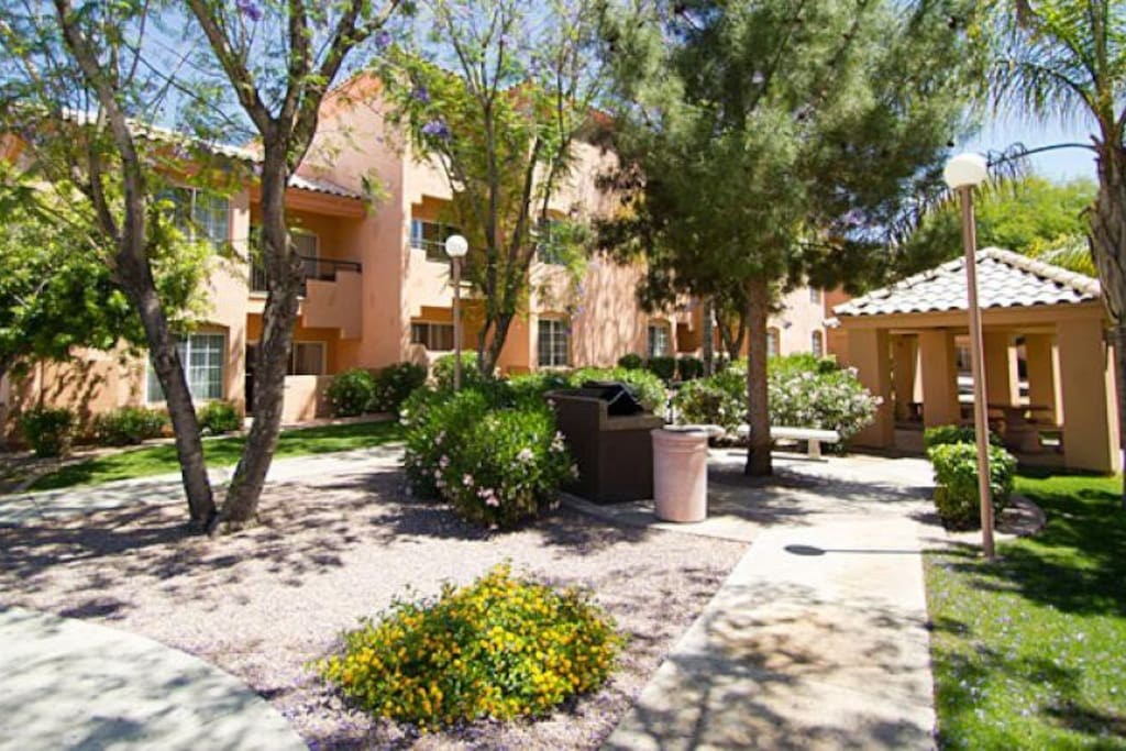 Located in a serene section of Scottsdale, whisk away to these beautiful condos