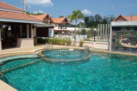 3 bedroom house with common pool - Tambon Ao Nang - 獨棟