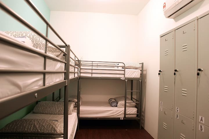 1 bed mixed dormitory,near legoland
