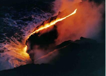 ~ MAGICAL LAVA TEMPLE ~ Live Volcano-Ocean Views!! - Pahoa - Altres