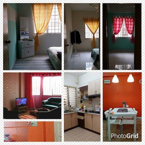 the red house to make you feel home - Kuala Lumpur - Apartment
