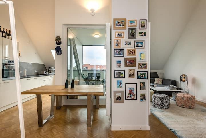 Loft mit Gästezimmer in Haidhausen