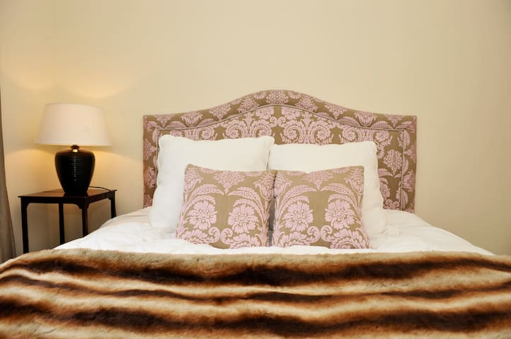 Romantic bedroom with great double size bed