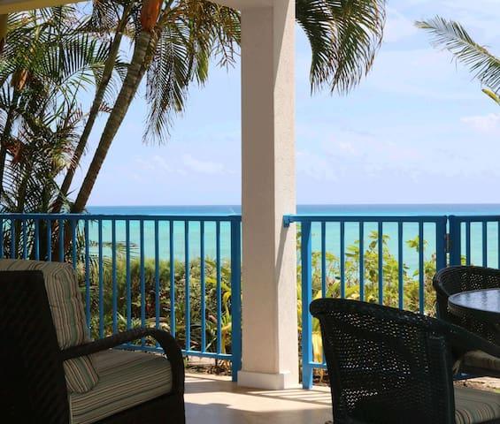 #103 Ocean View Beachfront Maxwell Beach Villas