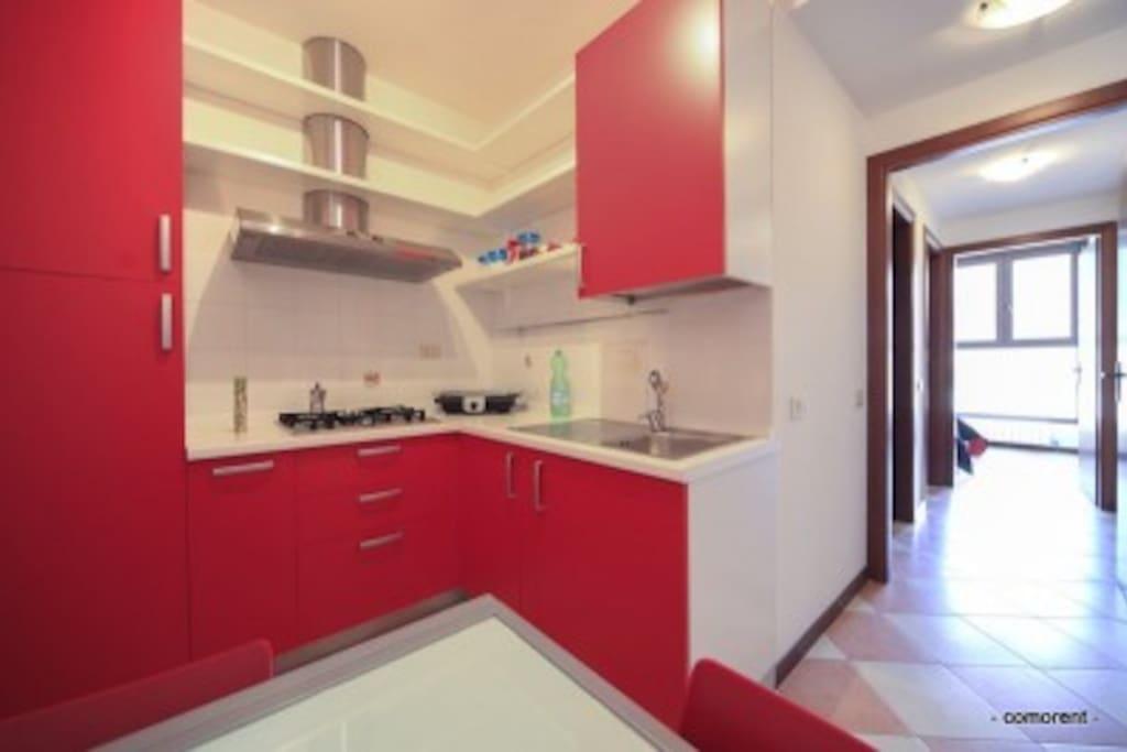 Appartamento immerso nel verde apartments for rent in for Piani patio esterno