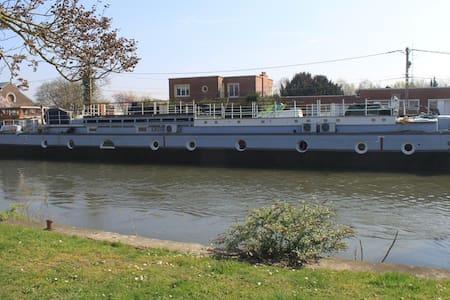 Gite à bord de notre péniche - Valenciennes