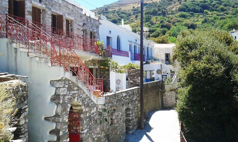 Naxos Traditional Family House in Koronos