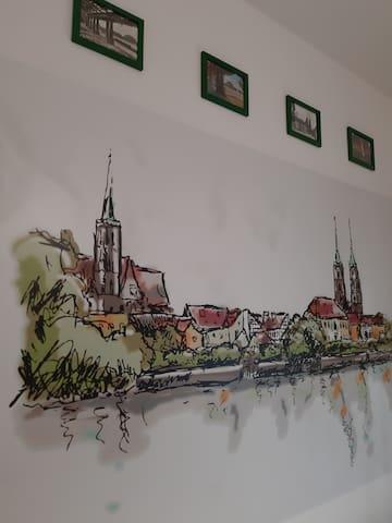 Zielony Apartament Nad Starą Odrą