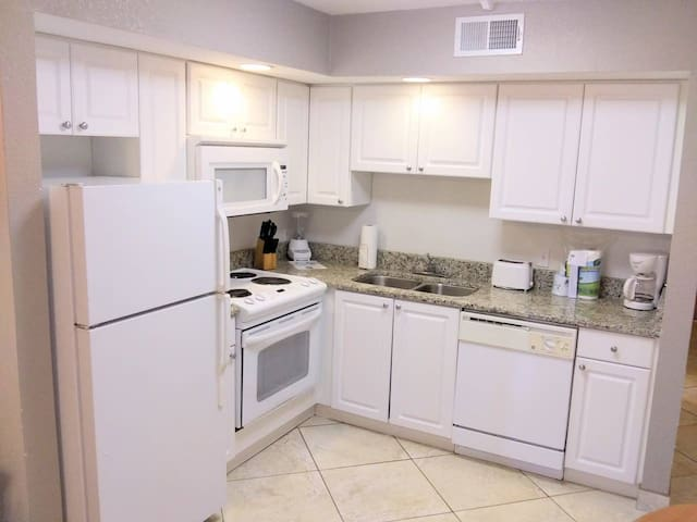 Deluxe 1 Bedroom Private CONDO with full Kitchen!