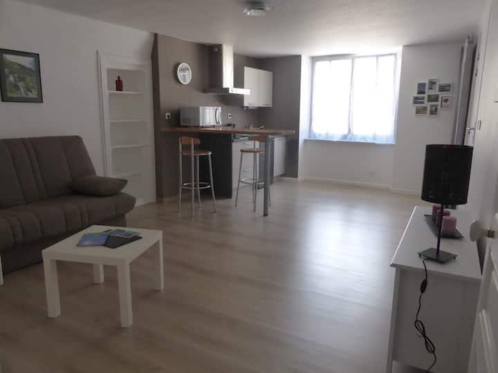 Studio au centre de Clairvaux-les-Lacs