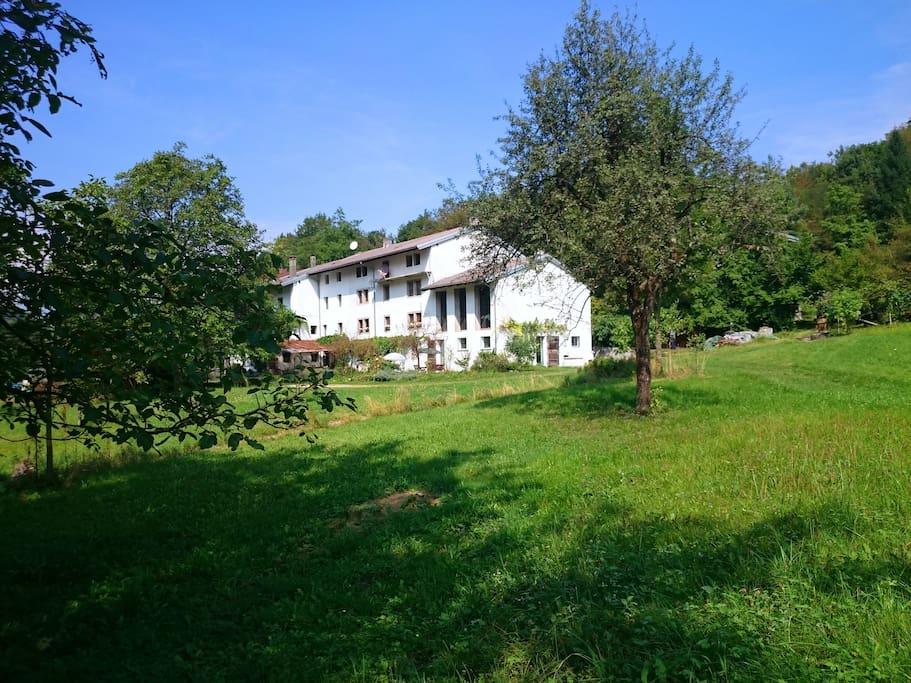 Private garden & villa _ Calm Villa & Wellness _ Borgata Dueibis _ Verzegnis(UD)  _ Friaul-Julisch Venetien _ Italy