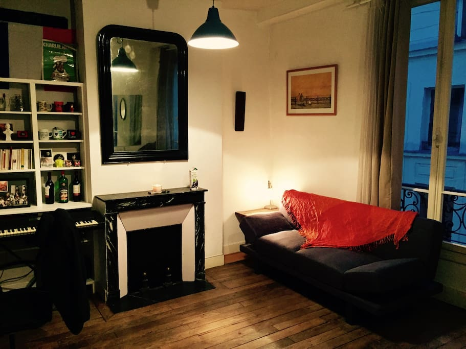 Leaving room/salon