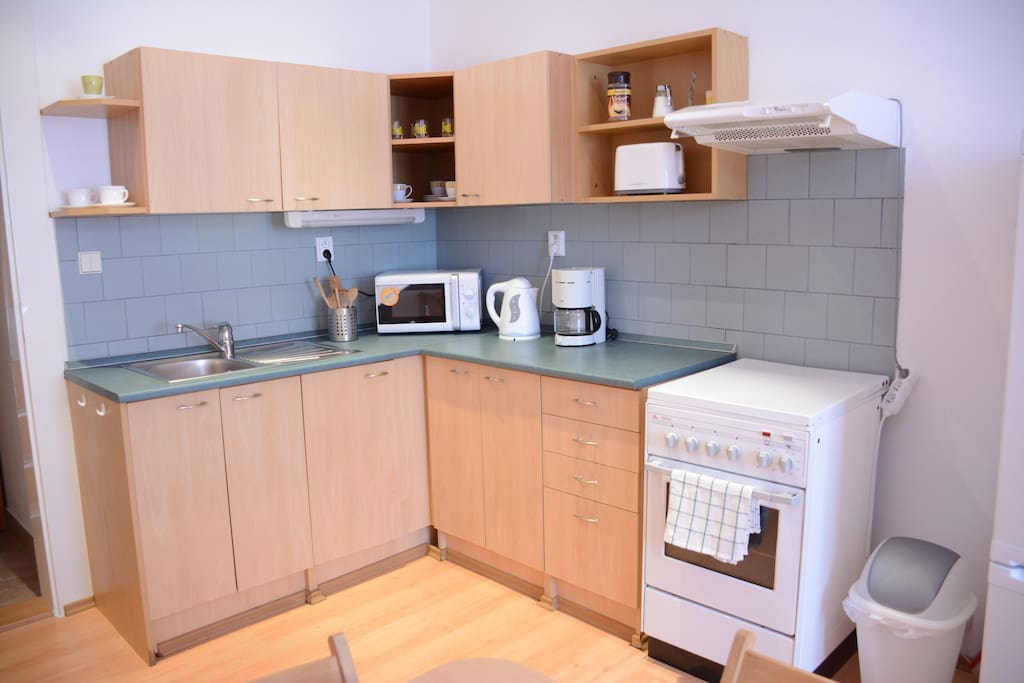 Kitchen,here you can cook some good food