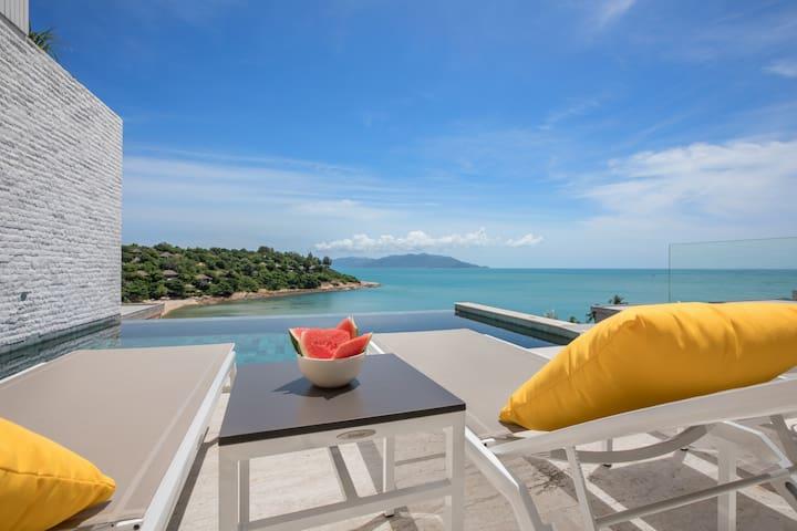Beachside Villa #18_Beach-style Chill-out Pad