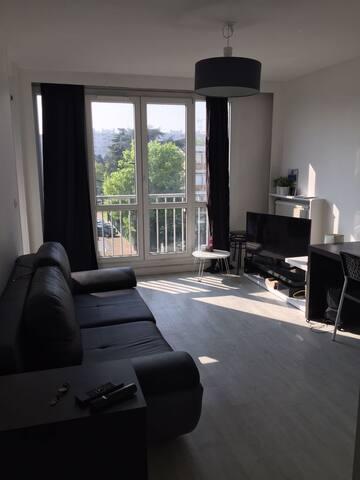 Grand appartement lumineux aux portes de Paris - Vitry-sur-Seine - Apartamento