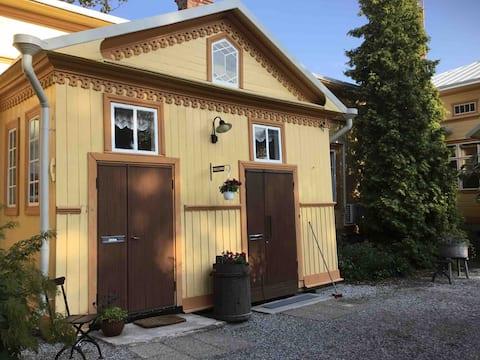 Huoneisto Ruustinna - puutaloidylli keskustassa