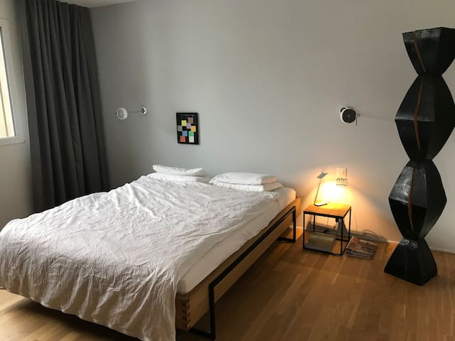 Quiet apartment 3.5 rooms - sports - sight seeing