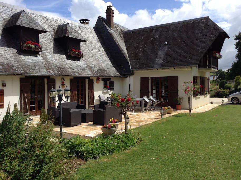 Maison de charme de la vall e de l 39 y res houses for rent in fallencourt - Maison de charme normandie ...