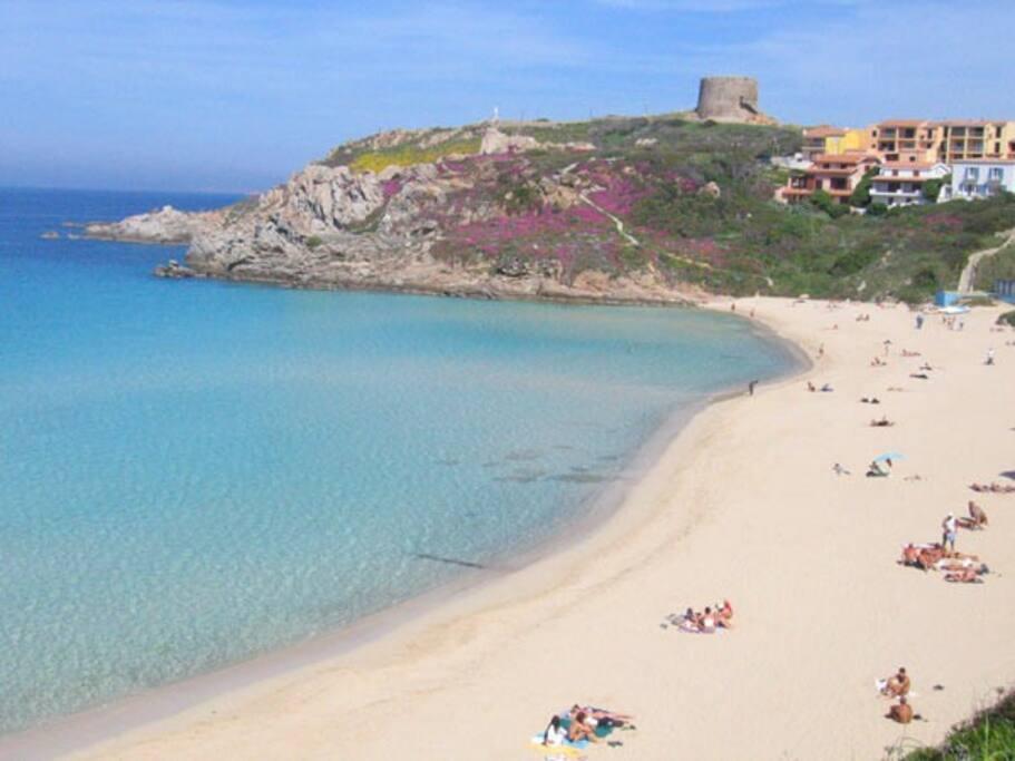 500 meters to this beach ! Rena Bianca